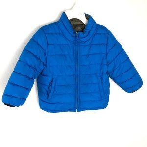Gap boys 2T Puffer Coat reversible